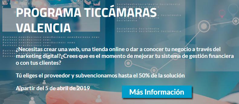 Ayudas TICCámaras 2019