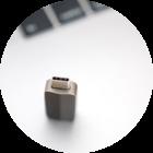 El peligro de los USB