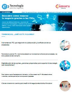Descubre cómo mejorar tu negocio gracias a las TICs – Boletín nº 1