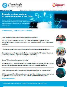 Conocer la 'generación digital' para generar nuevos modelos de negocio – Boletín nº 4