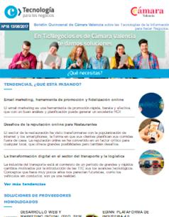 Email marketing, herramienta de promoción y fidelización online. Boletín nº 18