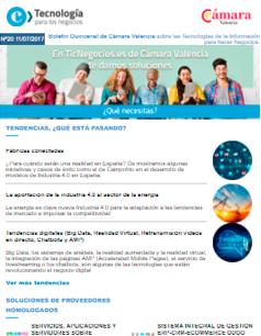 Te presentamos las tecnologías que están revolucionando el negocio digital. Boletín nº 20