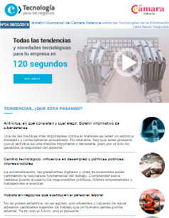 Robots en negocios que sustituyen al personal laboral. Boletín nº 34