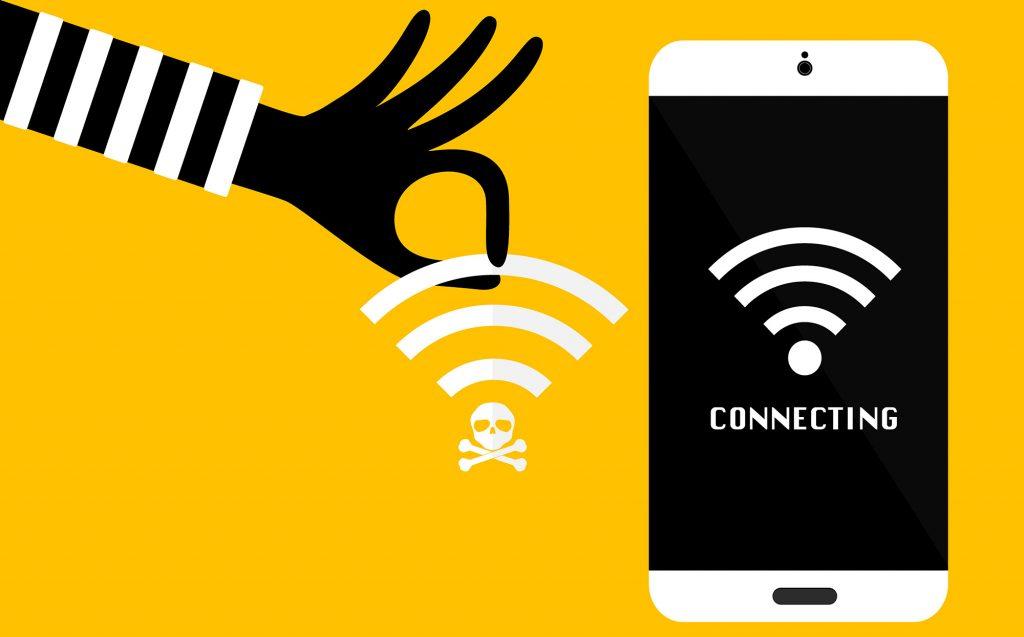 Peligros asociados a wifi públicas