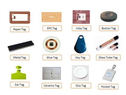 Distintos tipos de Tags RFID