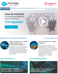 Informe Industria 4.0: Digital Champion. Boletín nº48