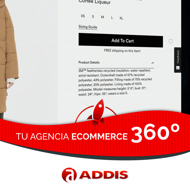 Addis: Ecommerce Prestashop B2C/B2B, webs corporativas y marketing online
