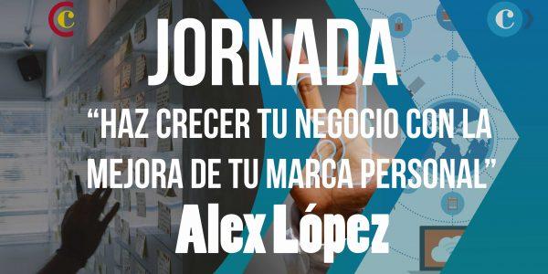 """Taller """"Haz crecer tu negocio con la mejora de tu marca personal"""" – Alex López"""