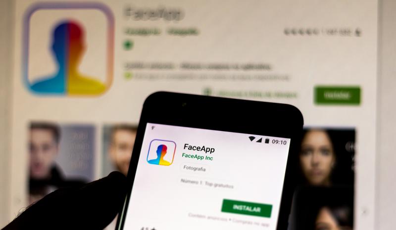 Aplicaciones para dispositivos móviles – FaceApp