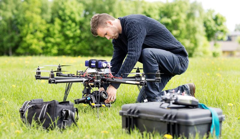 Piloto de drones: una profesión con mucha demanda en el futuro