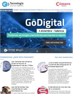 Las Cámaras de Comercio ponen el foco en la digitalización de las PYMEs. Boletín nº72