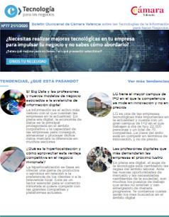 El Big Data y las profesiones y nuevos modelos de negocio asociados a la avalancha de información digital. Boletín nº77
