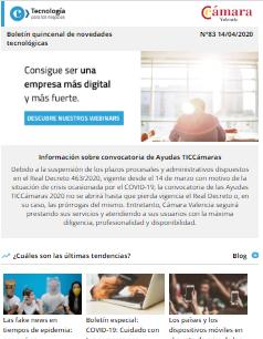 Consigue ser una empresa más digital (descubre nuestros webinars). Boletín nº83