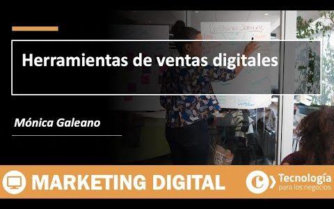 Herramientas de ventas digitales | Mónica Galeano