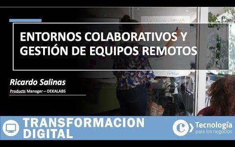 Entornos COLABORATIVOS y gestión de EQUIPOS REMOTOS | Ricardo Salinas