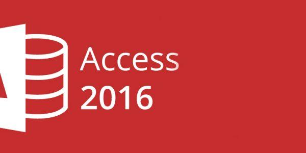 Access 2016. Nivel 1