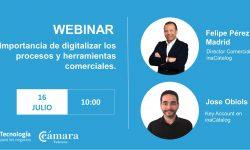Importancia de digitalizar los procesos y herramientas comerciales.