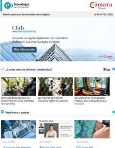 ¿Cómo convertir un negocio tradicional en una empresa digital? Nuevo Club de Innovación Digital. Boletín nº89