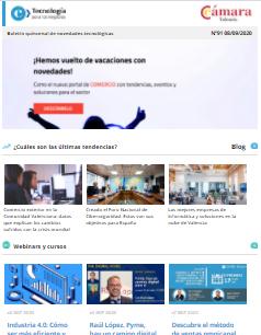 Nuevo portal Comercio con tendencias, eventos y soluciones para el sector. Boletín nº 91