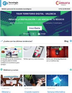 ¡Nuevo Tour Territorio Digital – Valencia para impulsar las ventas de tu negocio! Boletines nº 92