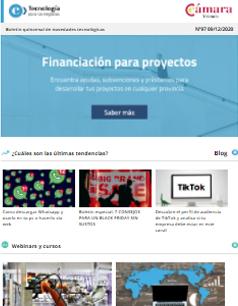 Nueva página de financiación: encuentra ayudas, subvenciones y préstamos. Boletín nº97