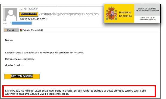 Boletín especial-Campañas de phishing: suplantando direcciones de correo conocidads