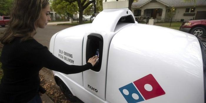 Este puede ser tu próximo repartidor de pizza a domicilio