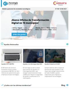 ¡Nueva Oficina de Transformación Digital en 10 municipios! Boletín nº109