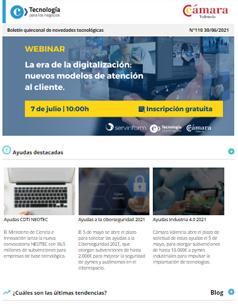La era de la digitalización: nuevos modelos de atención al cliente. Boletín nº110