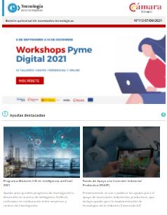 ¡Volvemos con el Workshops Pyme Digital 2021! 10 talleres gratuitos y presenciales. Boletín nº113