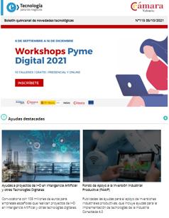 ¡Workshops Pyme Digital 2021! 10 talleres gratuitos presenciales y online. Boletín nº115
